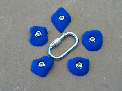 Klettergriffe Größe XS Set Emmet 5-teilig