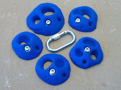 Klettergriffe Größe L Set Teuken 5-teilig - Vorschau