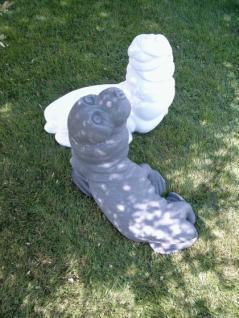 Gartenfigur Seehund aus Graphikstein - Vorschau 1