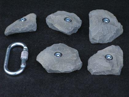 Klettergriffe Größe L Set Spik 5-teilig - Vorschau 2