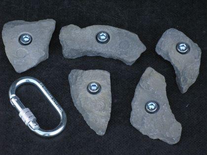 Klettergriffe Größe L Set Freschen 5-teilig - Vorschau 2