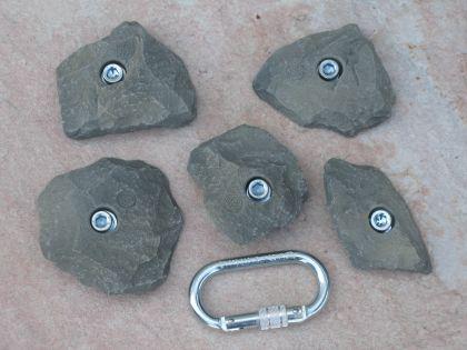 Klettergriffe Größe L Set Spik 5-teilig - Vorschau 1
