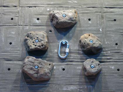Klettergriffe Größe XXL Set Brucken 5-teilig - Vorschau 2