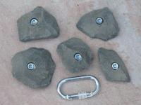Klettergriffe Größe L Set Spik 5-teilig