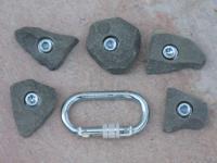 Klettergriffe Größe XS Set Schlern 5-teilig