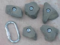 Klettergriffe Größe L Set Hochiss 5-teilig