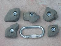 Klettergriffe Größe XS Set Sulz 5-teilig