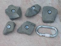 Klettergriffe Größe S Set Schran 5-teilig