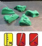 Klettergriffe Größe S Set Goinger 5-teilig