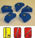 Klettergriffe Größe XS Set Traunstein 5-teilig