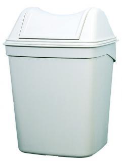 Marplast Abfalleimer Kunststoff Weiß 8 L