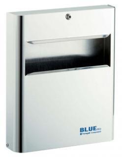 Fumagalli Toilettensitzpapier-Spender Blue Line C7601 C/S zur Wandmontage
