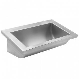Simex Waschbecken aus Edelstahl Satin - zur Wandmontage - erhältlich in 5 Größen