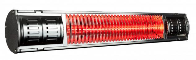 Infralogic Infrarot Heizstrahler HeizMeister mit IP 65 und 2000 Watt
