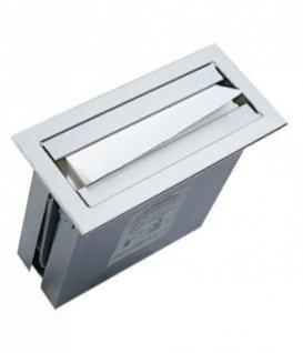 BOBRICK B-526 TrimLine-Serie Papierhandtuchspender - Montage in Waschtischblende