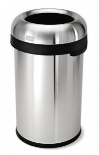 Simplehuman Open Top Abfallbehäler 80 Liter