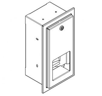 franke wc rollenhalter rodx672e aus edelstahl zur unterputzmontage kaufen bei schrama handels. Black Bedroom Furniture Sets. Home Design Ideas