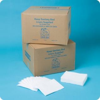 Wickeltisch Papierabdeckung hygienische einweg Auflagen für Babywickelstationen
