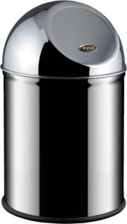 Alda Clean World Abfallbehälter aus Edelstahl in 8 L, 10 L