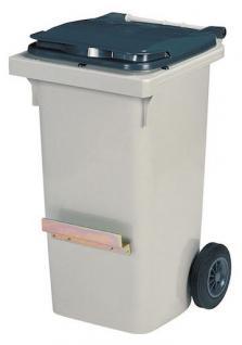 Rossignol Mülltonne mit 2 Rädern und mit Schiene entspricht der Norm EN-840 1 bis 6