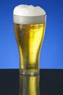 Fussball Bierglas 0, 5l - glasklar - Kunststoff - für Public Viewings