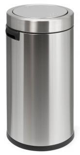 Simplehuman Swing Top runder Abfallbehälter 55 Liter