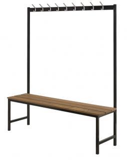 garderoben haken mit ablage g nstig online kaufen yatego. Black Bedroom Furniture Sets. Home Design Ideas