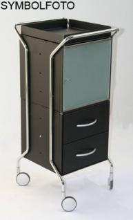 Graepel High Tech hochwertiges Fach für den WEEL-U Trolley aus gebürstetem Edelstahl