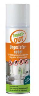 Insect-OUT® Ungeziefernebel 400 ml - Mit dem Wirkstoff der Chrysantheme