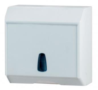 Marplast Handtuchspender Multicart weiß MP 536 - 250Stk. C-Falz, Z-Falz