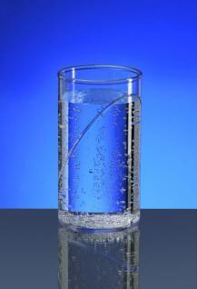 Wasserglas 0, 25l SAN Glasklar - Kunststoff