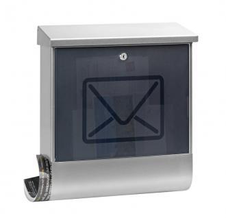 Briefkasten Lucenta aus Edelstahl 19 Liter