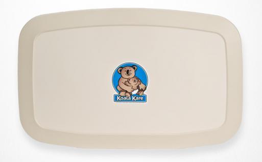 NEUE Koala Wickelstation KB-200 Horizontal Elfenbein MICROBAN® Hygieneschutz