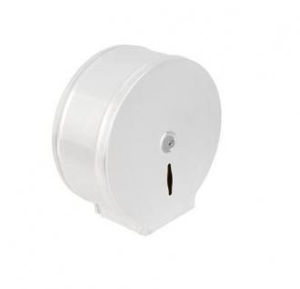 CleanLine Jumbo 400 Toilettenpapierspender Metal - Weiss Epoxy - Vandalensicher