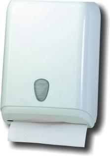 Marplast Papierhandtuchspender weiß MP 592W - 400Stk. C-Falz, V-Falz, Z-Falz