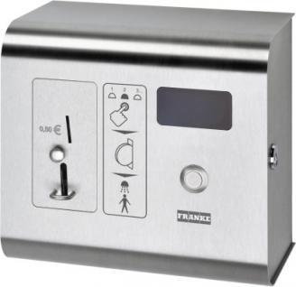 Franke Münzkontaktgeber für Wasserabgabe zur Steuerung von 2 - 31 Duscharmaturen
