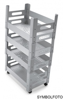 Graepel High Tech P.U.B. Multifunktions-Schrankelement aus verzinktem Stahl