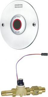Franke Duscharmatur mit elektronischer Zeitsteuerung für Batterie- oder Netzbetrieb