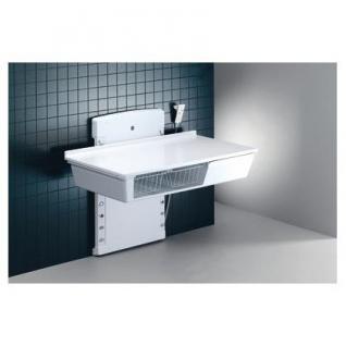 Pressalit wandhängender Wickeltisch in 2 Größen: 800x1400 mm oder 800x1800 mm