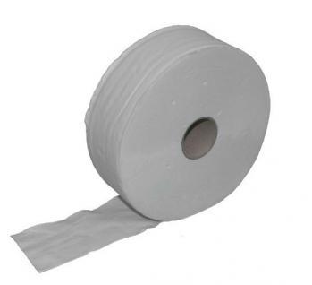 Palette (49 Packungen je 6 Stück) Toilettenpapier Jumbo - 2-lagig - Recycling weiß