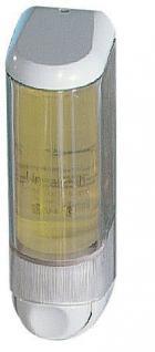 Marplast Seifenspender mit Patrone weiß/transparent aus Kunststoff 0, 2L MP 606
