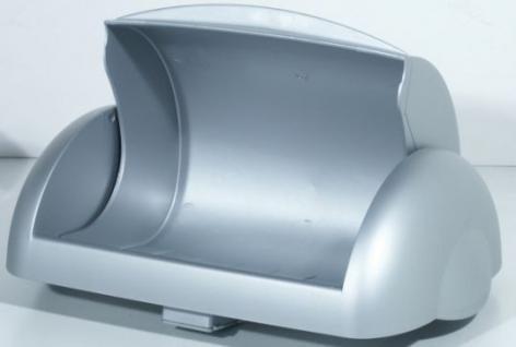 Marplast Klappdeckel für Damenhygiene Kunststoff für Abfalleimer MP742 - Weiss oder Satin