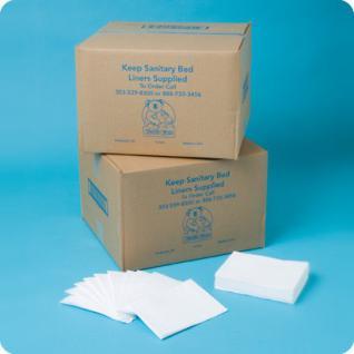 Wickeltisch Papierabdeckung - Auflagen für Babywickelstationen