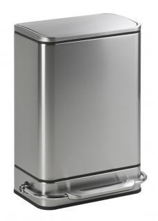Simplehuman rechteckiger Abfallbehälter Steelbar 38 Liter
