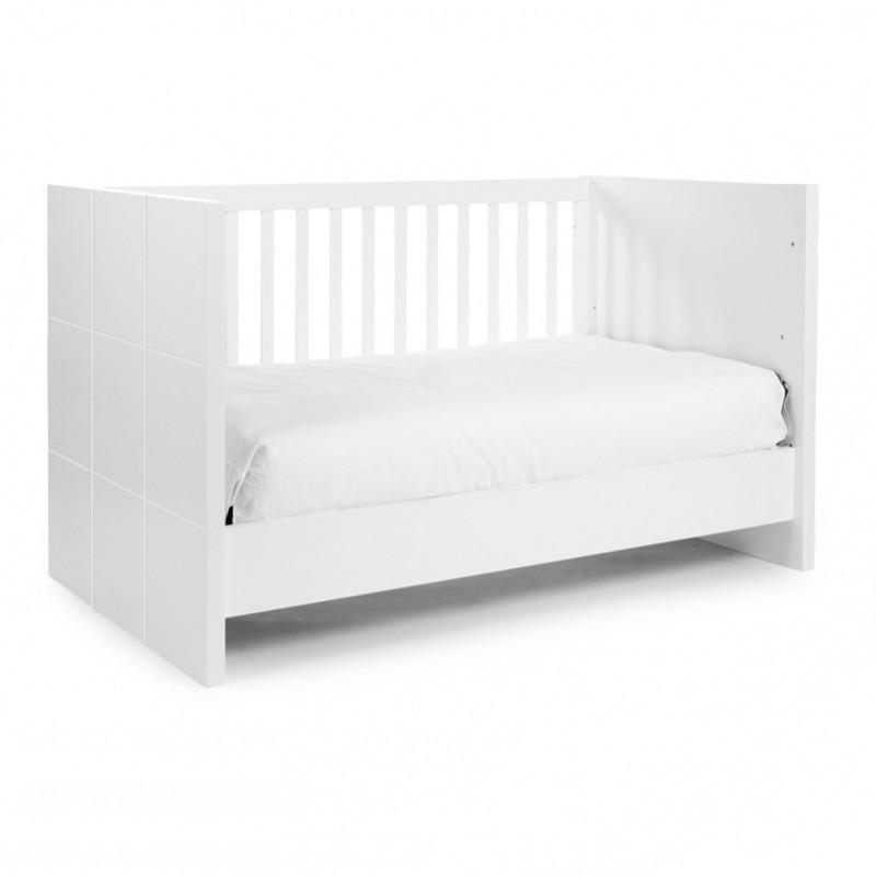 childwood quadro white baby und kinderbett b140qn kaufen bei schrama handels gmbh. Black Bedroom Furniture Sets. Home Design Ideas