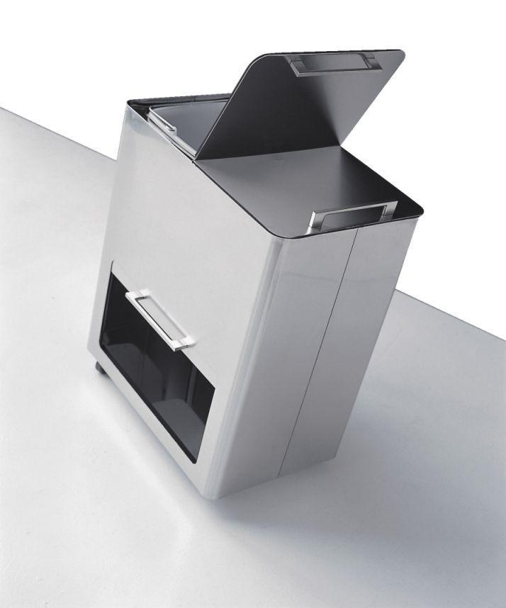 graepel high tech italienischer m lleimer differenziata. Black Bedroom Furniture Sets. Home Design Ideas