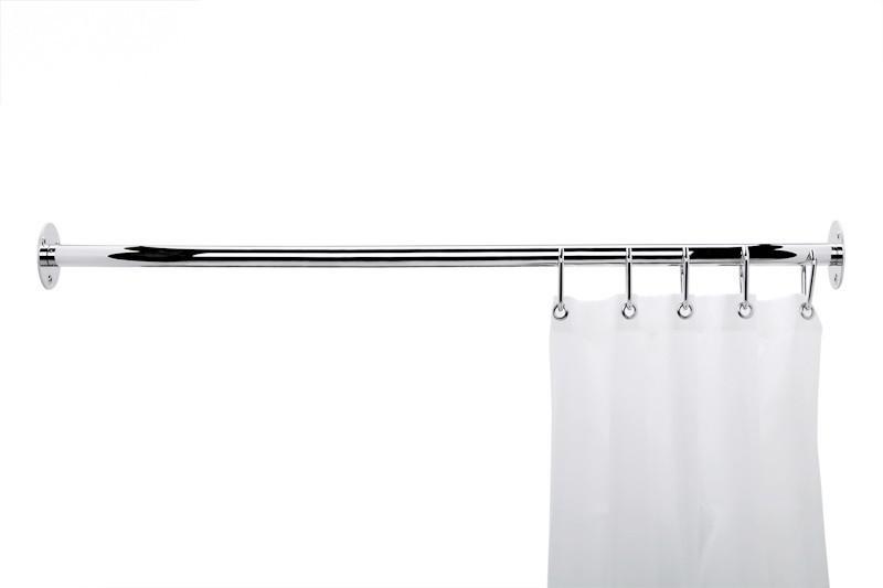 frelu duschvorhang nonflame wei aus polyester wasserabweisend waschbar kaufen bei. Black Bedroom Furniture Sets. Home Design Ideas