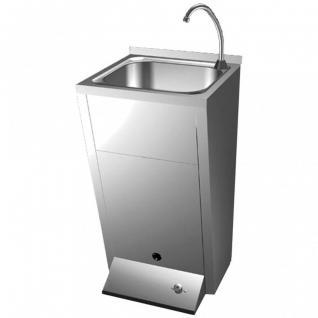 Simex Waschbecken aus Edelstahl SUS 304 Satin zur Wandmontage - in 3 Ausführungen