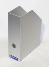Graepel High Tech hochwertiger Mappenhalter aus eloxiertem Aluminium