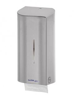 Ophardt SanTRAL Wave TRW 2 Toilettenpapierspender für 2 Standardrollen